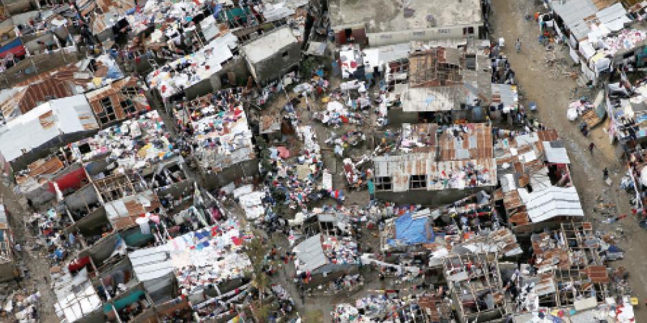 Suman más de 300 muertos en Haití tras <em>Matthew </em>  y contando