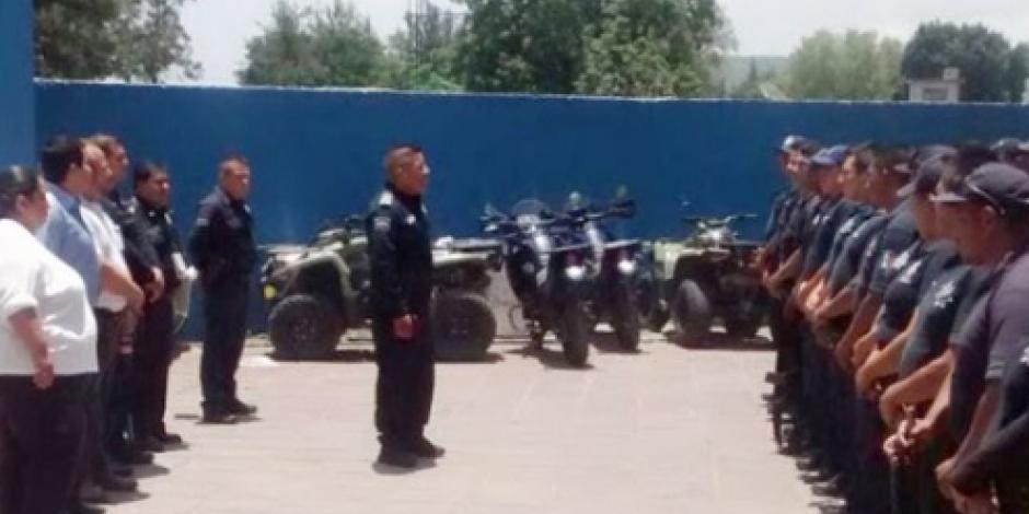 Nombran a nuevos mandos policíacos en Álvaro Obregón, Michoacán