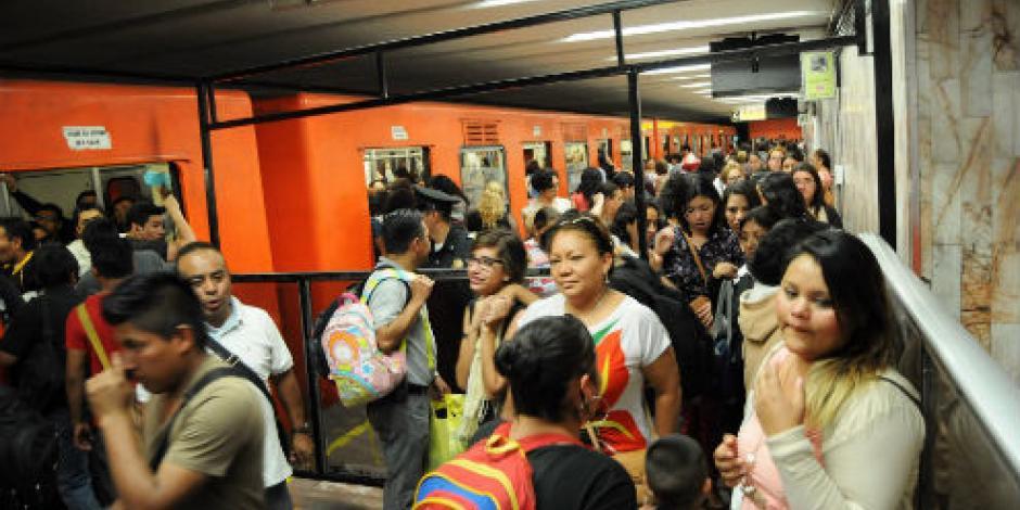 Anuncia operativo de seguridad navideño en el Metro