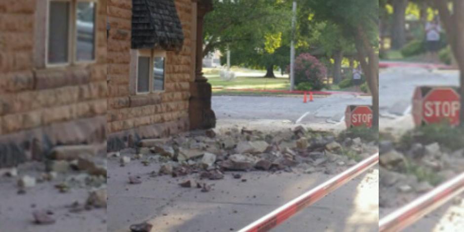Reportan edificios dañados tras temblor en Oklahoma