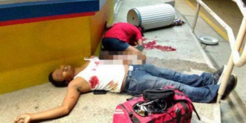 Integrantes de Guerreros Unidos, homicidas de familia en Oaxaca