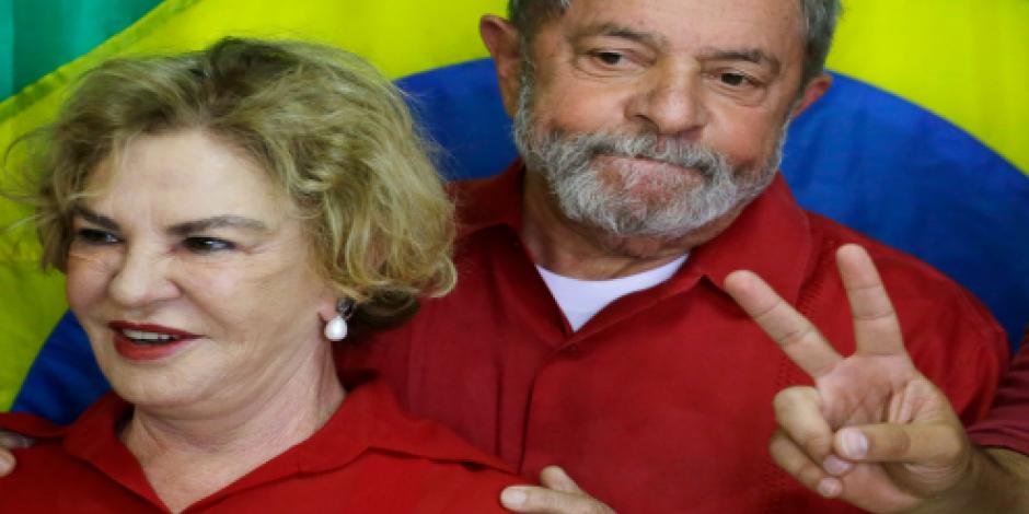 Presentan nuevos cargos contra Lula y su esposa por corrupción