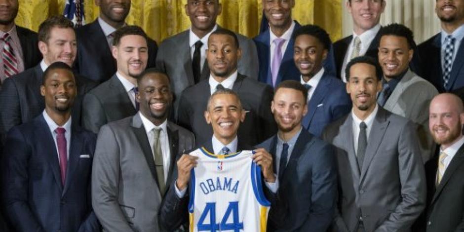 Obama recibe a los