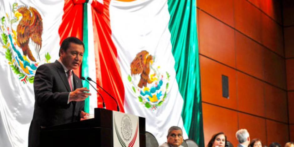 Nuevo Sistema de Justicia Penal ha ejercido 21 mil mdp, informa  Osorio