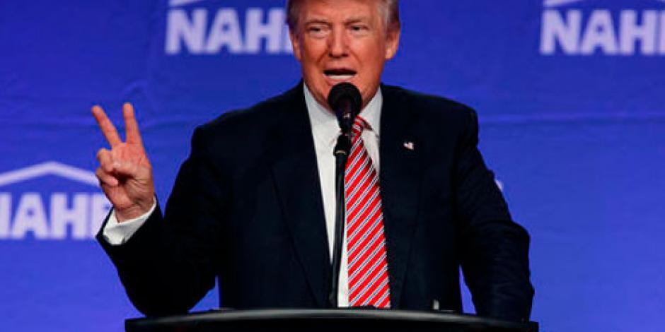 Trump afirma que fue sarcasmo decir que Obama fundó al EI