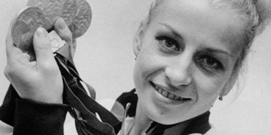 Muere la gimnasta Vera Caslavska, la