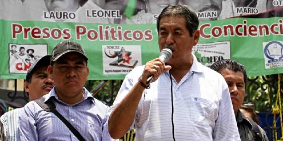 Trasladan a Rubén Núñez a penal local de Oaxaca