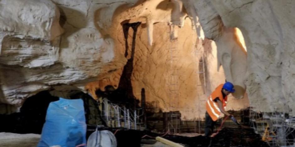 Encuentran en Francia dos anillos de piedra hechos por Neandertales