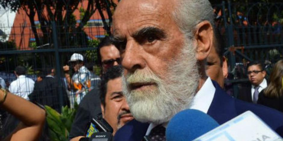 Rechaza Fernández de Cevallos que lleve la defensa de Javier Duarte