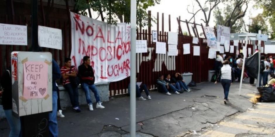 Busca IPN mediar con líderes de la vocacional 11 para levantar paro