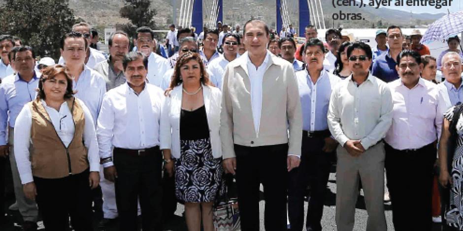 Moreno Valle garantiza obra pública