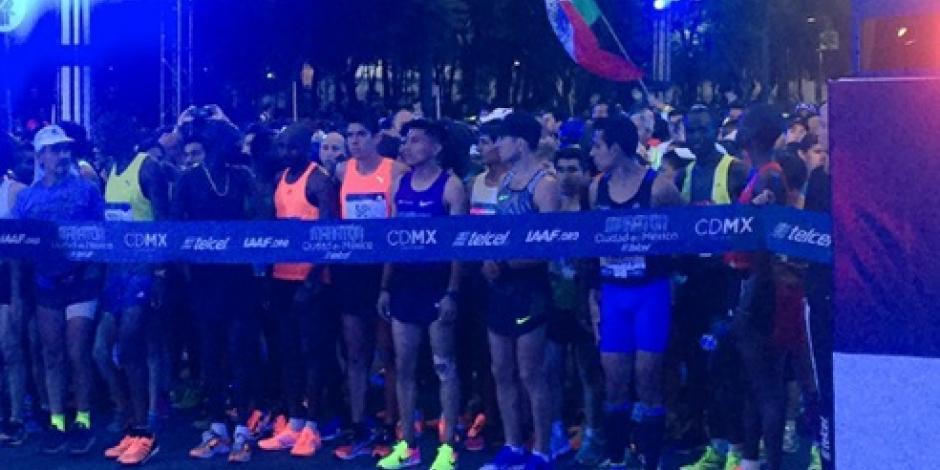 Celebran Maratón de la Ciudad de México