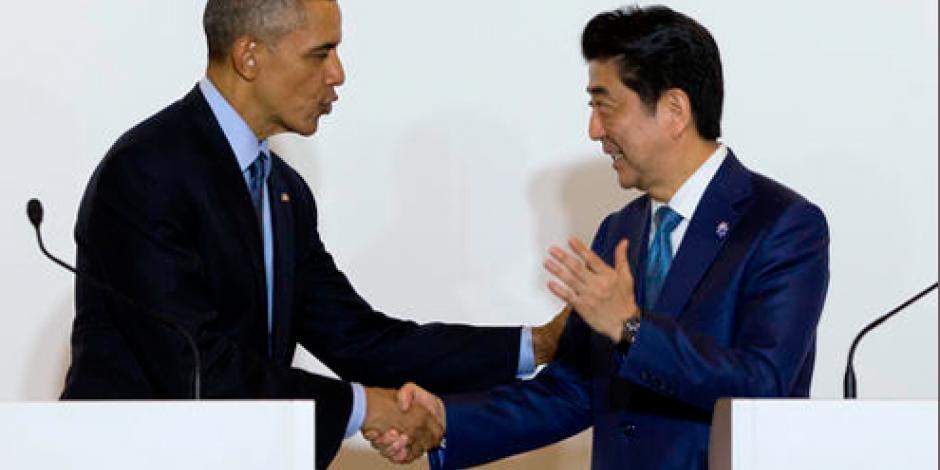Obama llega a Japón para participar en cumbre del G-7