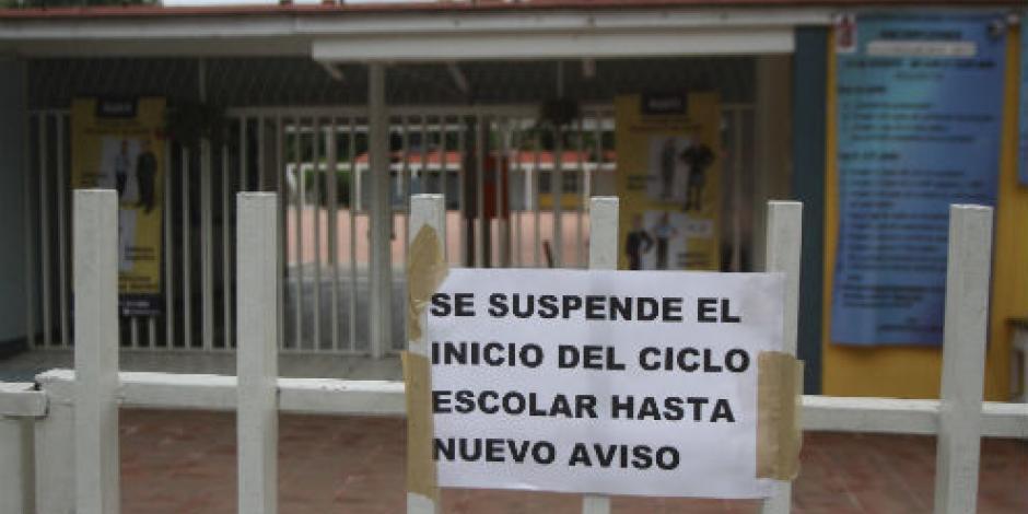 Despiden a mil 239 maestros por acumular faltas en Oaxaca