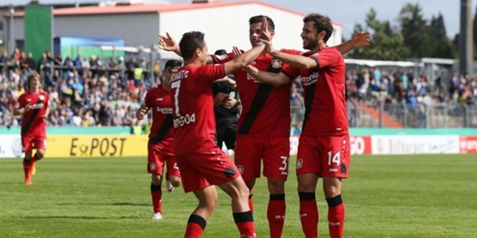 Chicharito anota en victoria del Bayer Leverkusen