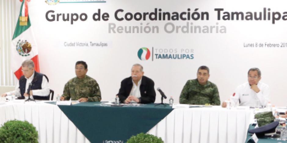 Tamaulipas da resultados en seguridad
