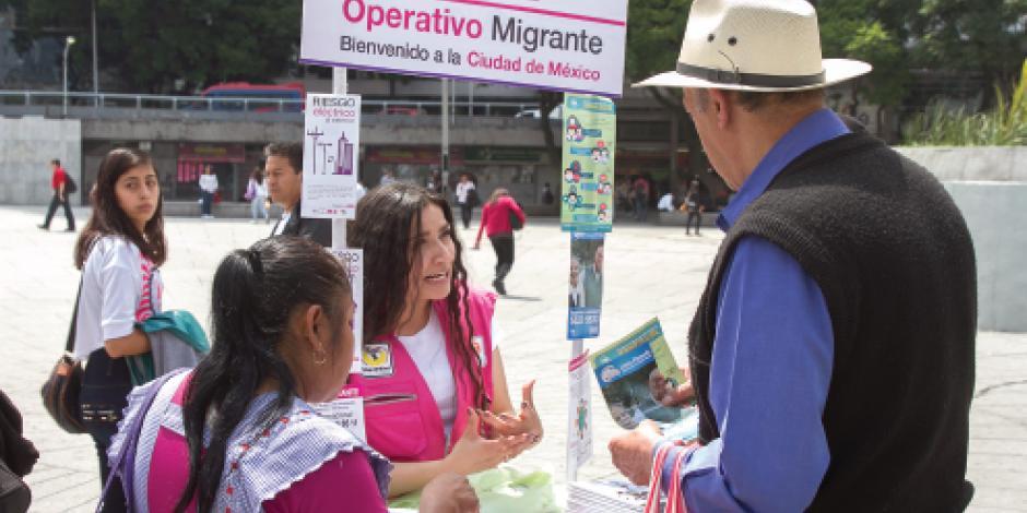Sederec ayuda a más de 2 mil migrantes