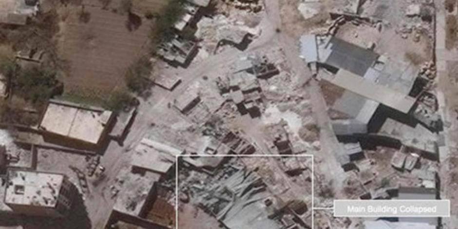 ONU revela fotos de destrucción en Siria por bombardeos