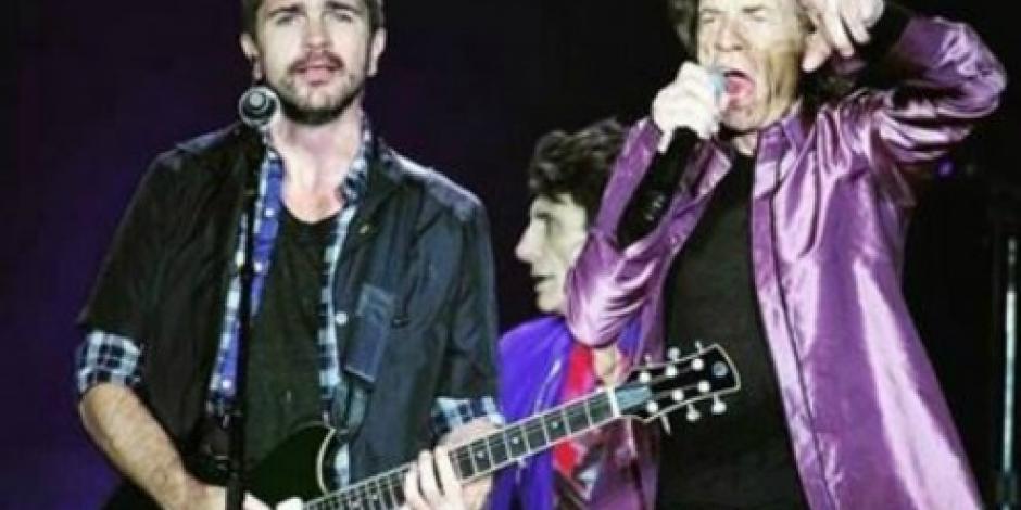 VIDEO: Los Rolling Stones cantan junto a Juanes en Colombia