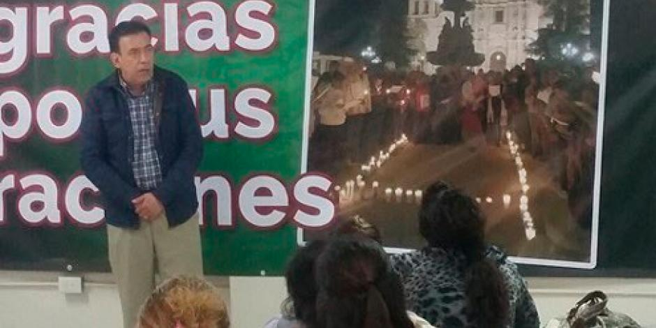 Reaparece Humberto Moreira en Coahuila