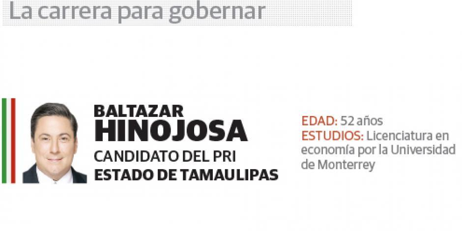 Baltazar Hinojosa: Mi campaña en Tamaulipas será propositiva