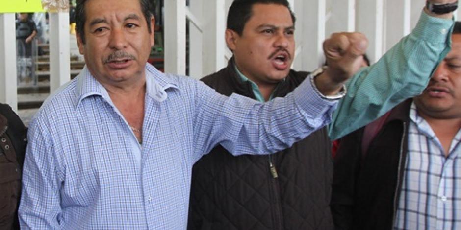 Sección 22 ratifica como su secretario general a Rubén Núñez