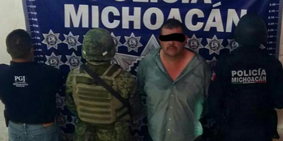 Capturan a presunto líder delincuencial de Tierra Caliente