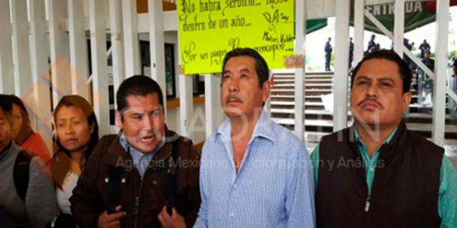 Sección 22 amaga con bloquear carreteras en Oaxaca