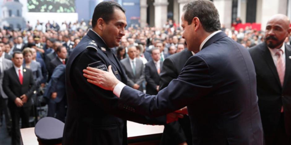 Eruviel Ávila hace llamado a legisladores para aprobar Mando Único