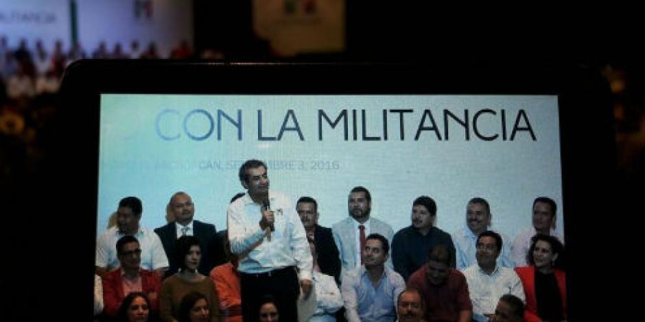 En el PRI no hay espacio para corruptos, señala Ochoa Reza