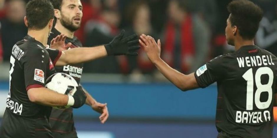 Leverkusen cae 2-1 ante Ingolstadt;