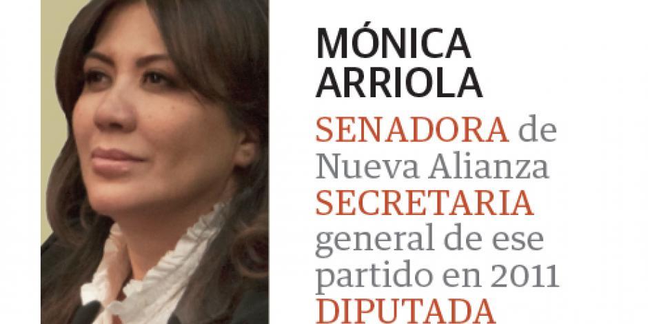 Familiares y amigos dan el último adiós a Mónica Arriola
