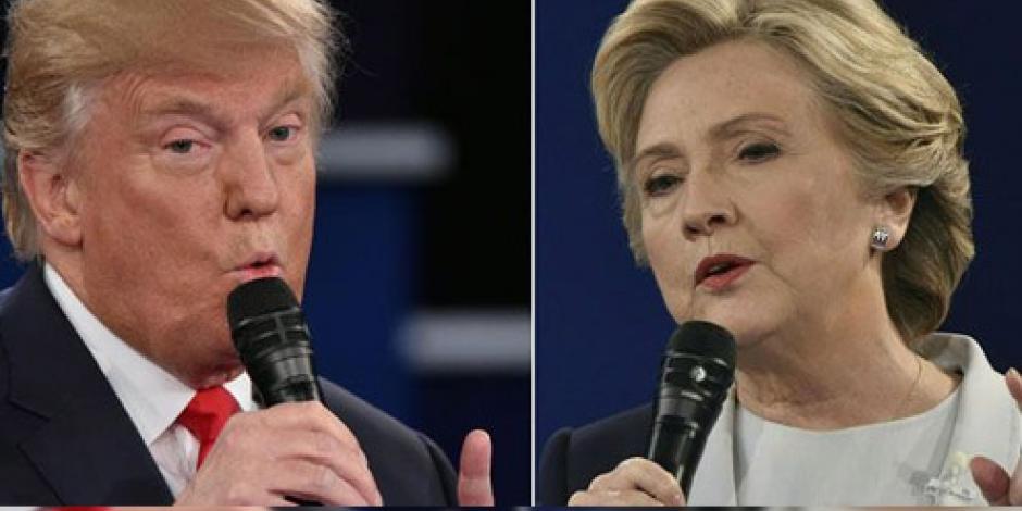 Tercer debate entre Hillary y Trump; última oportunidad para convencer