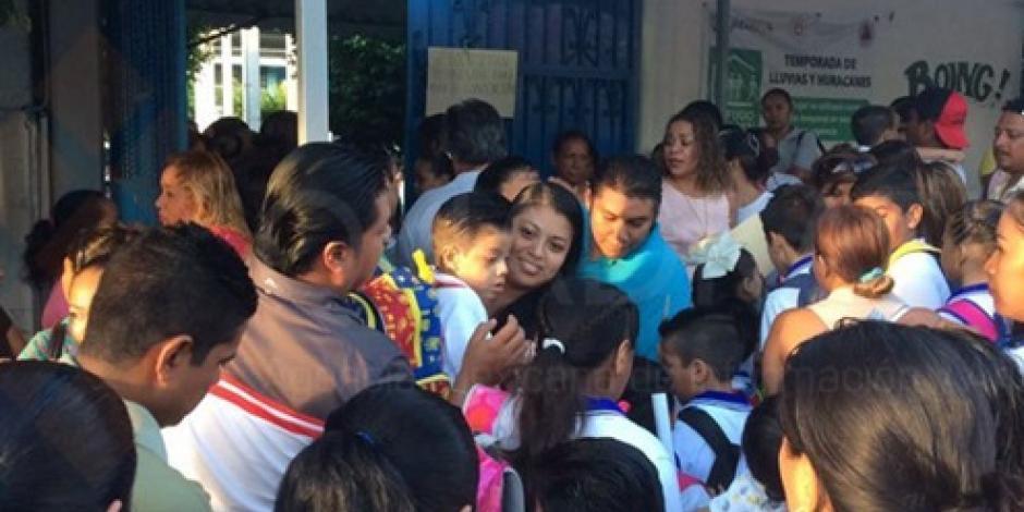En Guerrero todas las escuelas abrieron, asegura SEG