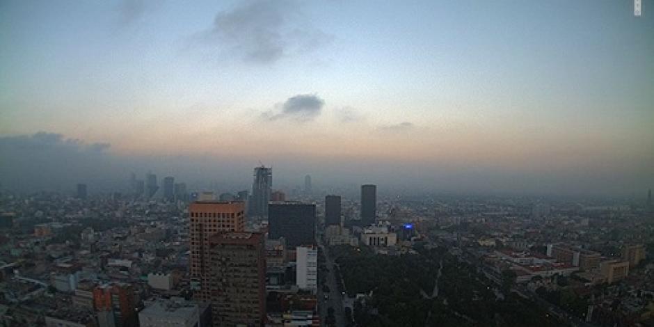 Por segundo día, Valle de México amanece con regular calidad de aire