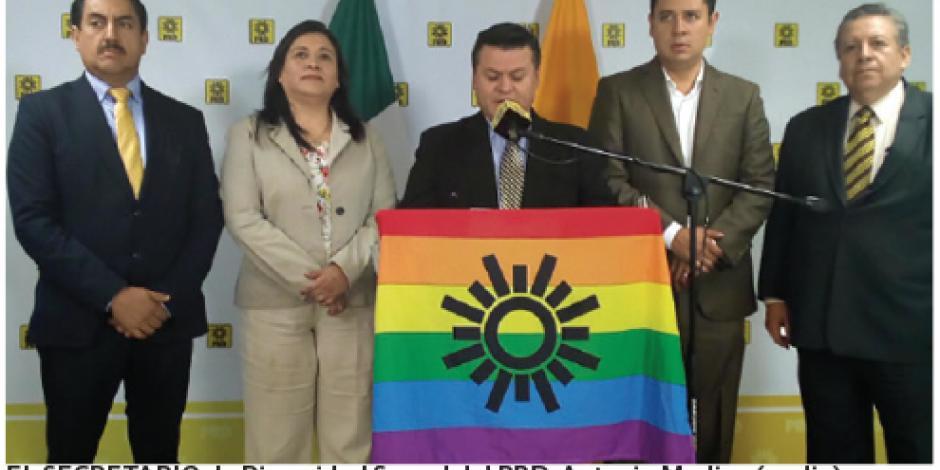 PRD pide que bodas gay sea iniciativa preferente