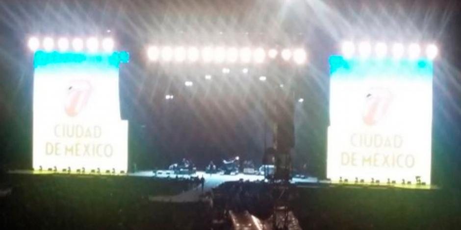 Inicia segundo concierto de Rolling Stones en Foro Sol