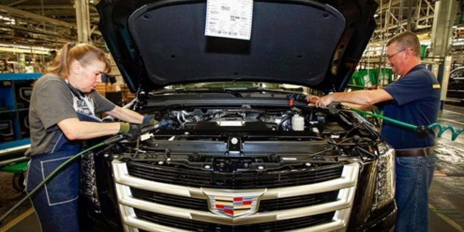 General Motors cierra temporalmente 5 fábricas en EU