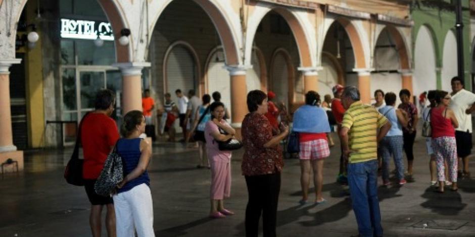 Ocurre un temblor de 4.8 grados en Veracruz