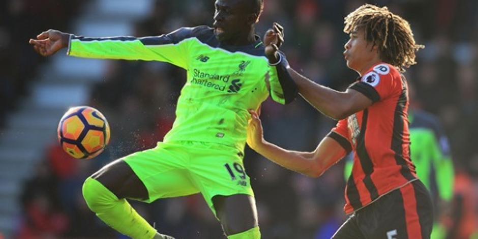 Bournemouth quita invicto al Liverpool, lo vence 4-3