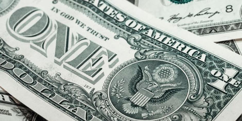 Dólar se vende hasta en 19.28 pesos en bancos de la CDMX