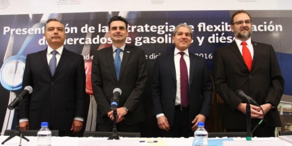 Liberalización de precios de gasolinas generará inversiones por más de 16 mmdd