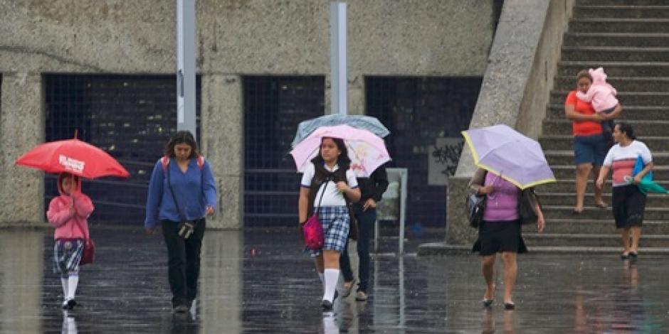 Se esperan fuertes lluvias en 6 estados del país