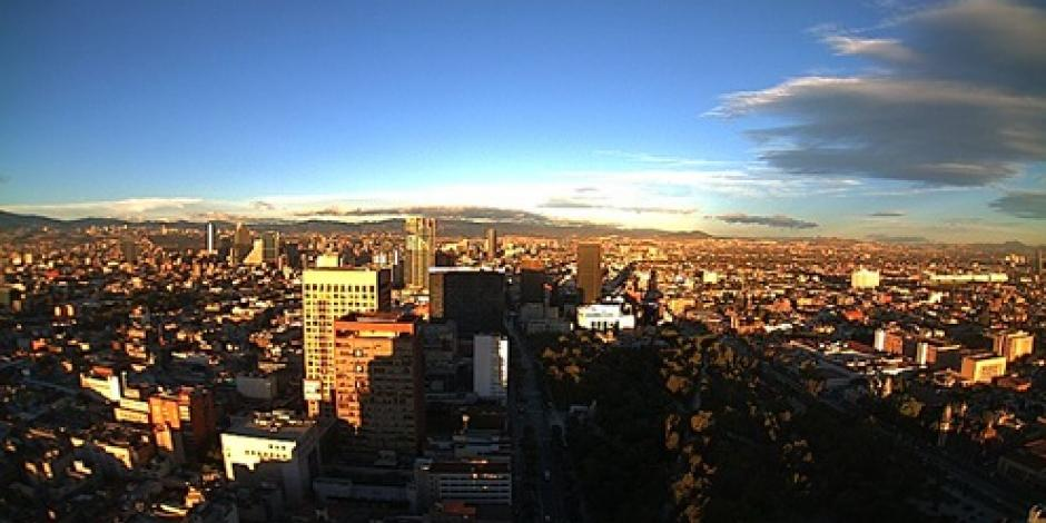 Buena, la calidad del aire en el Valle de México