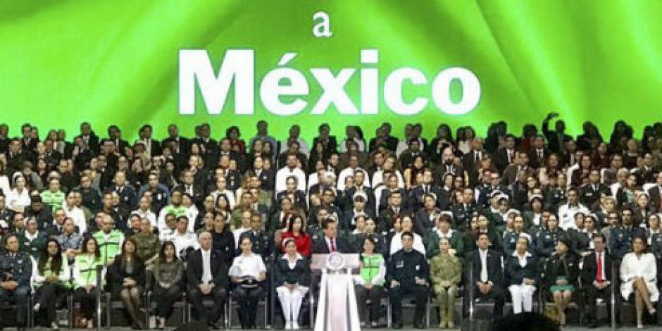 Reconoce EPN labor de sus gabinete en transformación del país