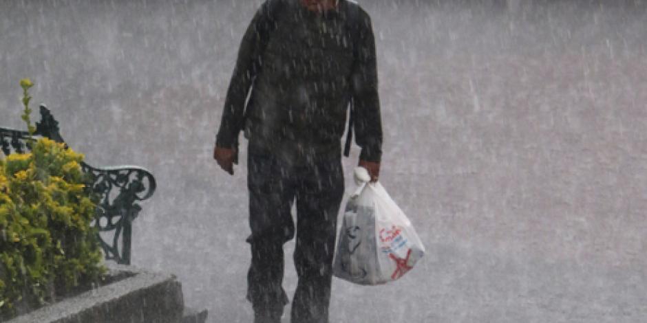 Persistirán lluvias en territorio nacional