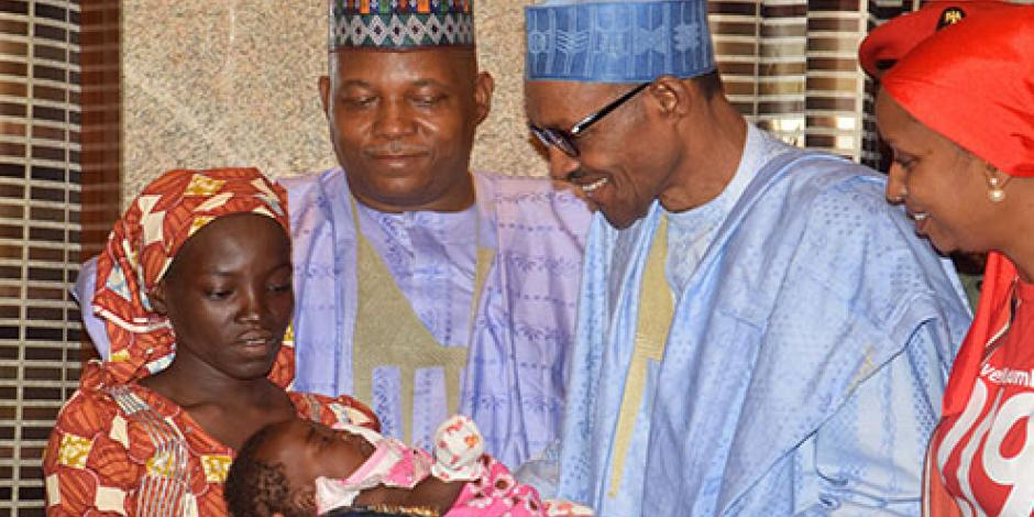 Niña rescatada en Nigeria no era de la escuela Chibok