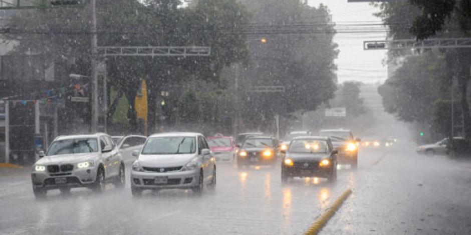 Siguen lluvias intensas en la mayor parte del país
