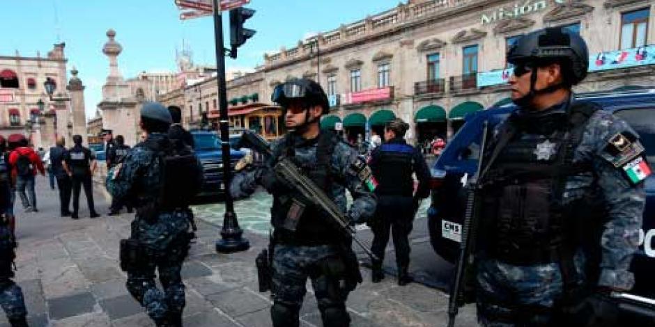 PF y Seguridad Pública refuerzan vigilancia en Morelia