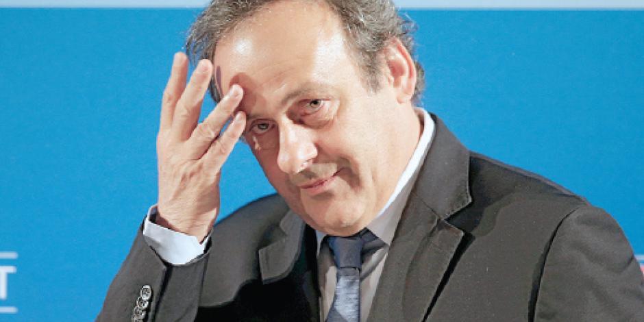 Platini denuncia que FIFA no le permite acudir al TAS